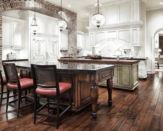 Elegant Custom Kitchen Cabinets