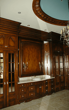 Custom Wood Built-Ins