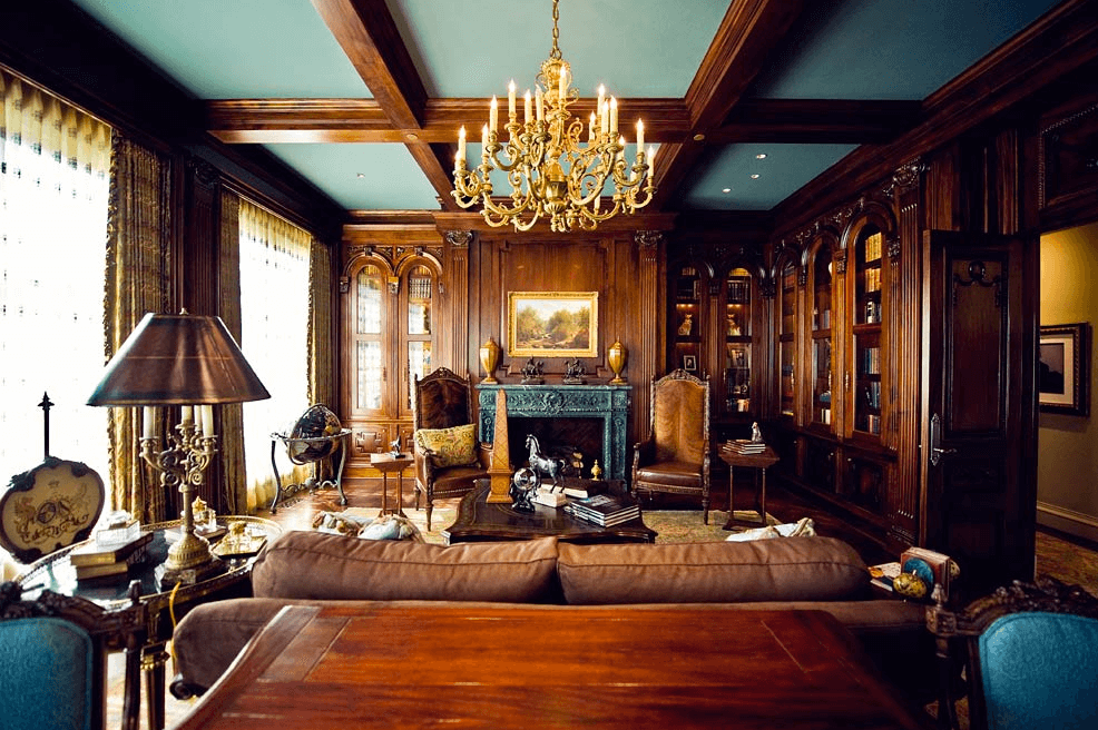 Custom Paneling, Molding and Ceiling Details