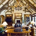 Custom Living Room Beams and Woodwork