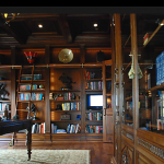 Custom Library Built-Ins, Molding and Woodwork